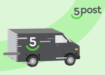 Новый способ доставки 5post