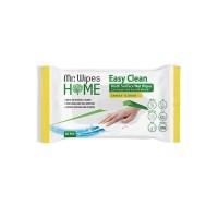 """Влажные чистящие салфетки для всех видов поверхностей """"Лимон"""""""