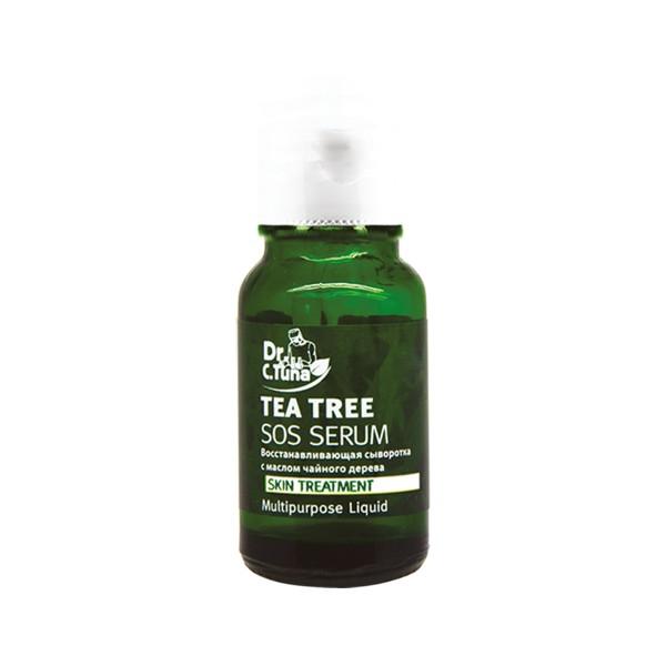 Восстанавливающая сыворотка с маслом чайного дерева
