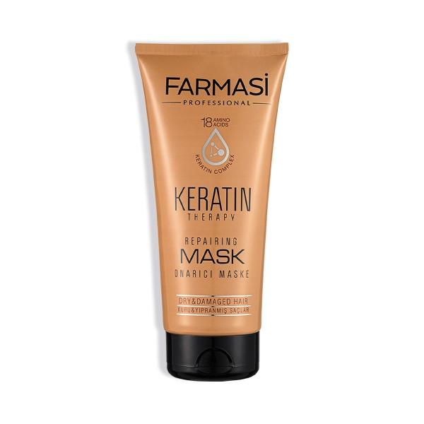 Профессиональная восстанавливающая маска для волос  KERATIN THERAPY